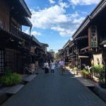 「君の名は」の聖地として一躍有名になった古い町並みが残る飛騨高山