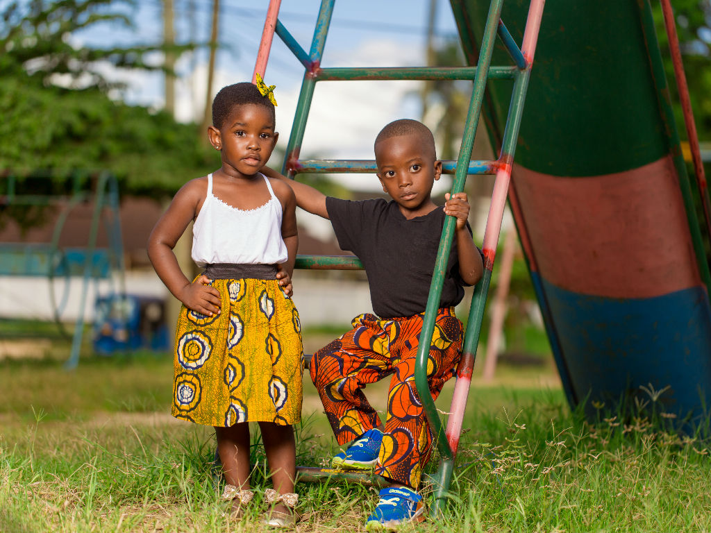 African Print Clothing For Children