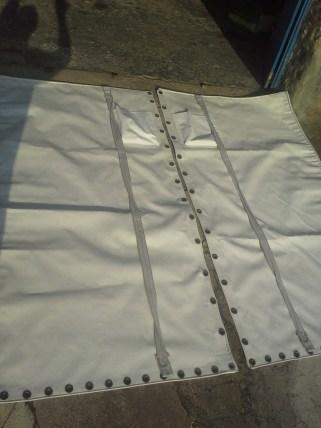 réparation de trampoline