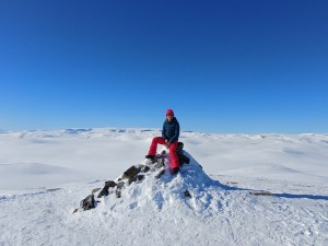 Plateau in Norway for Hiking and skiing