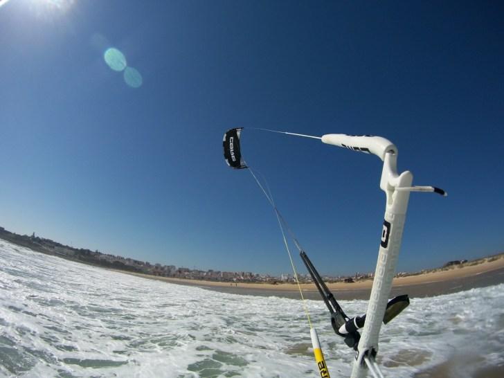 meia praia kitesurfing