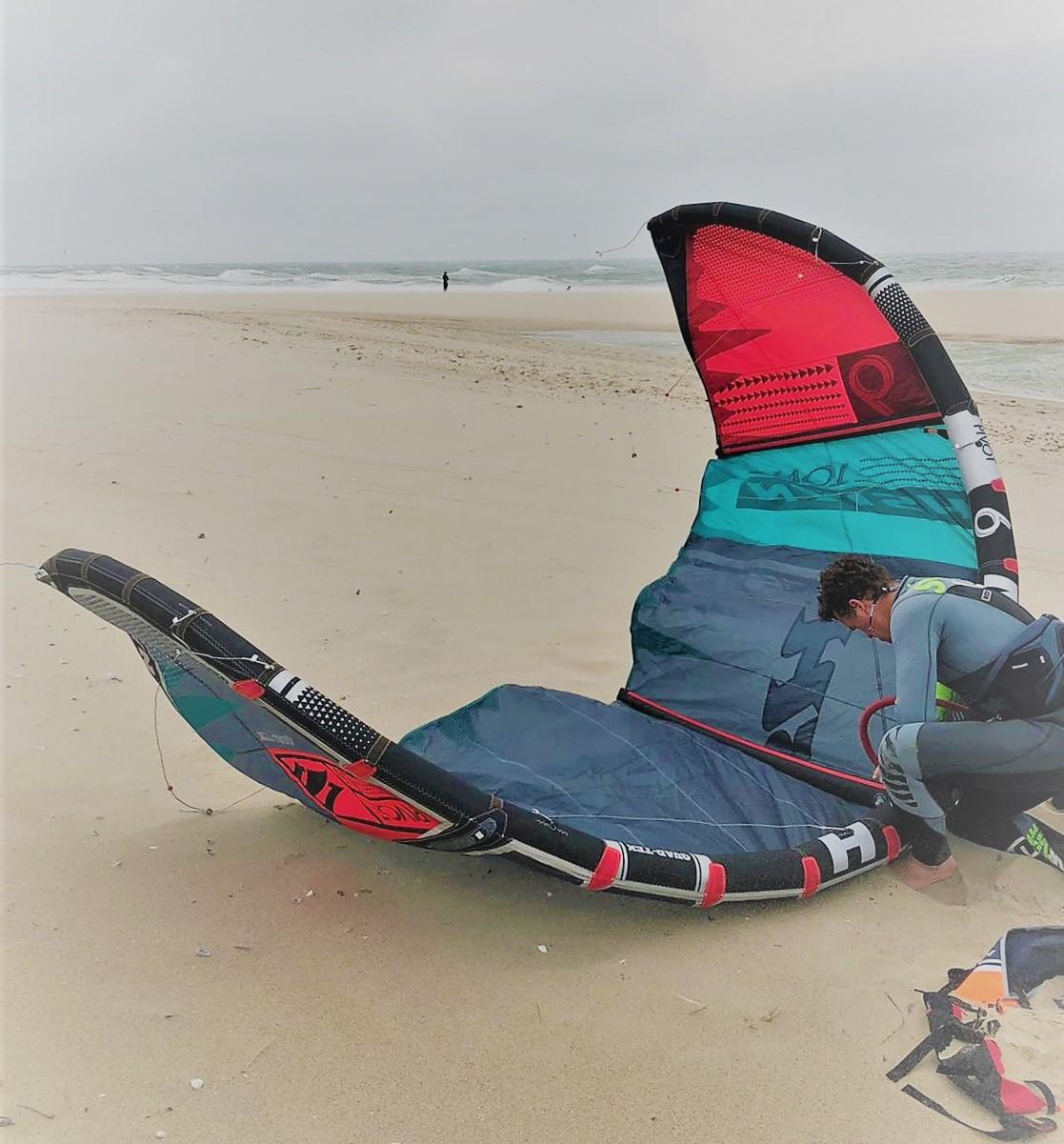 Kitesurfen actuele en weer- en windvoorspelling