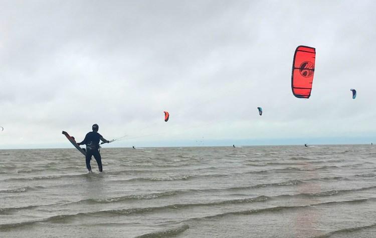 Kitesurfing November