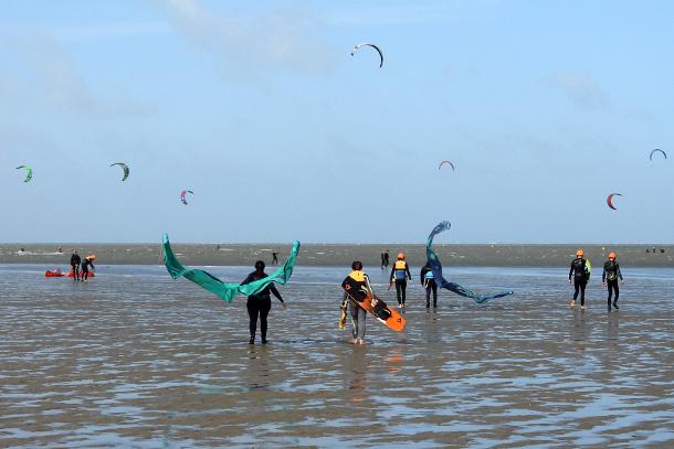 beginnen met kitesurfen