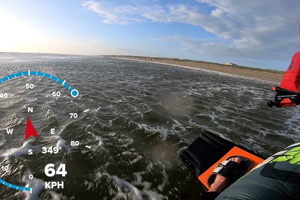 snelheid kitesurfen record