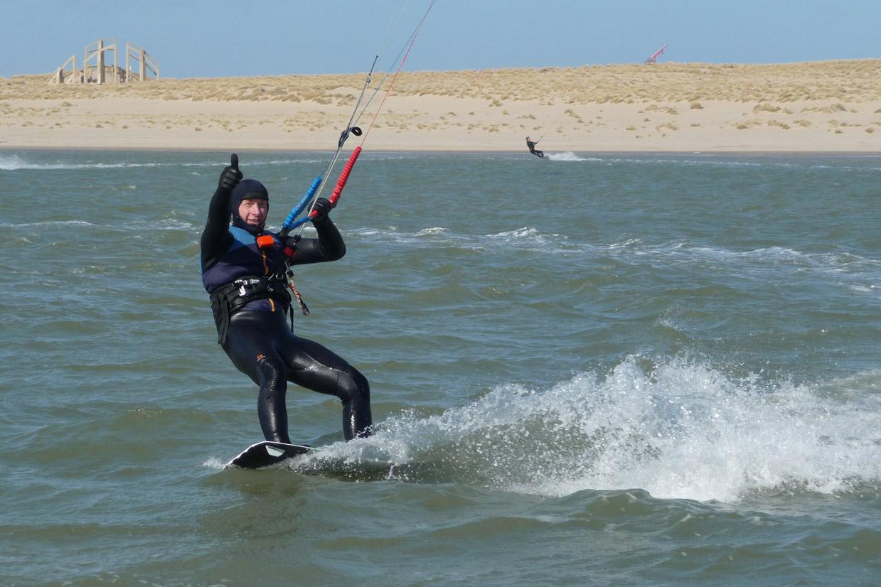 Kitesurfen Maasvlakte fotoserie 27 maart 2021