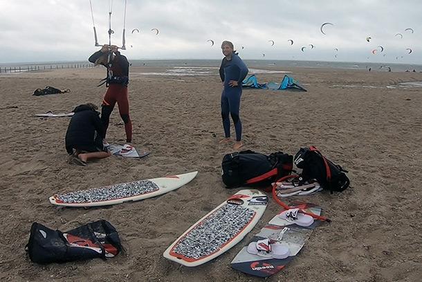 Lengte kiteboard advies. Een kiteboard maattabel