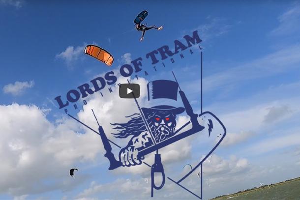 Lords of Tram - Big Air kitesurf event