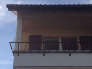 Protection de balcon - enveloppement de la rembarde
