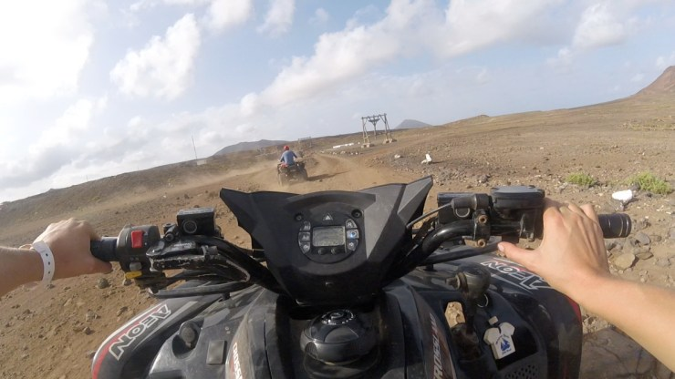 Rent a quad on the island Sal, Cape Verde