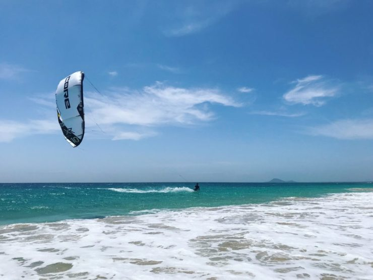 instruction du kitesurf