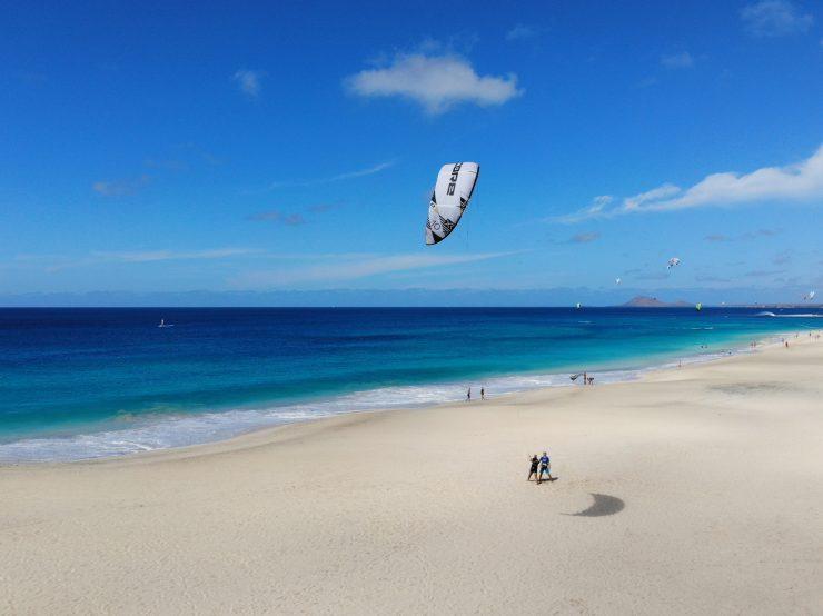 beginnerlesson kitesurf