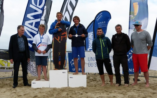 Killian Martineau Champion de France Kite Combiné FFVL lycée