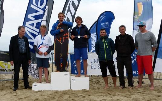 Killian Martineau Champion de France Kite Combiné FFVL lycée