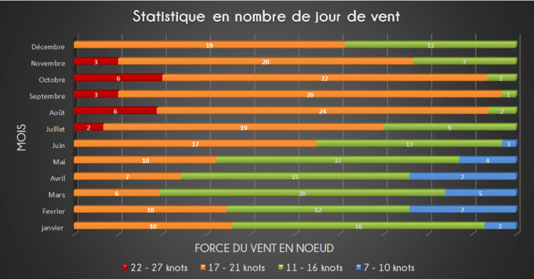 Wind statistics in the northeast region of Brazil