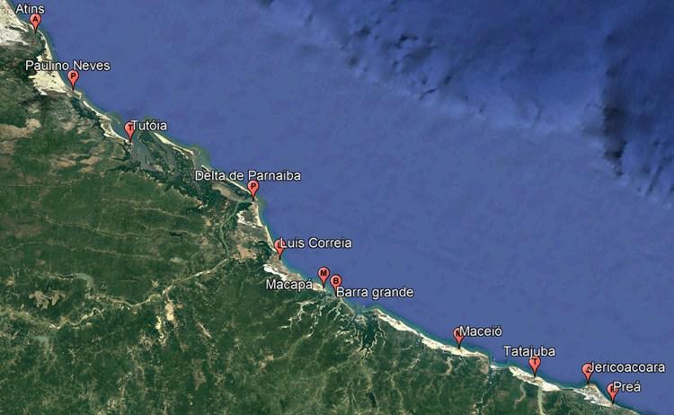 Le séjour kite trip downwind de Jericoacoara à Atins avec Kitexperiment