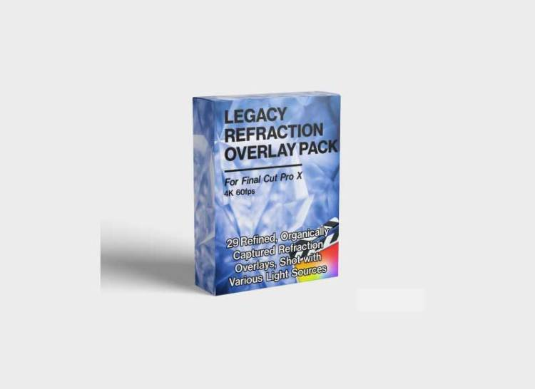 Legacy Refraction Overlay Pack for Final Cut Pro
