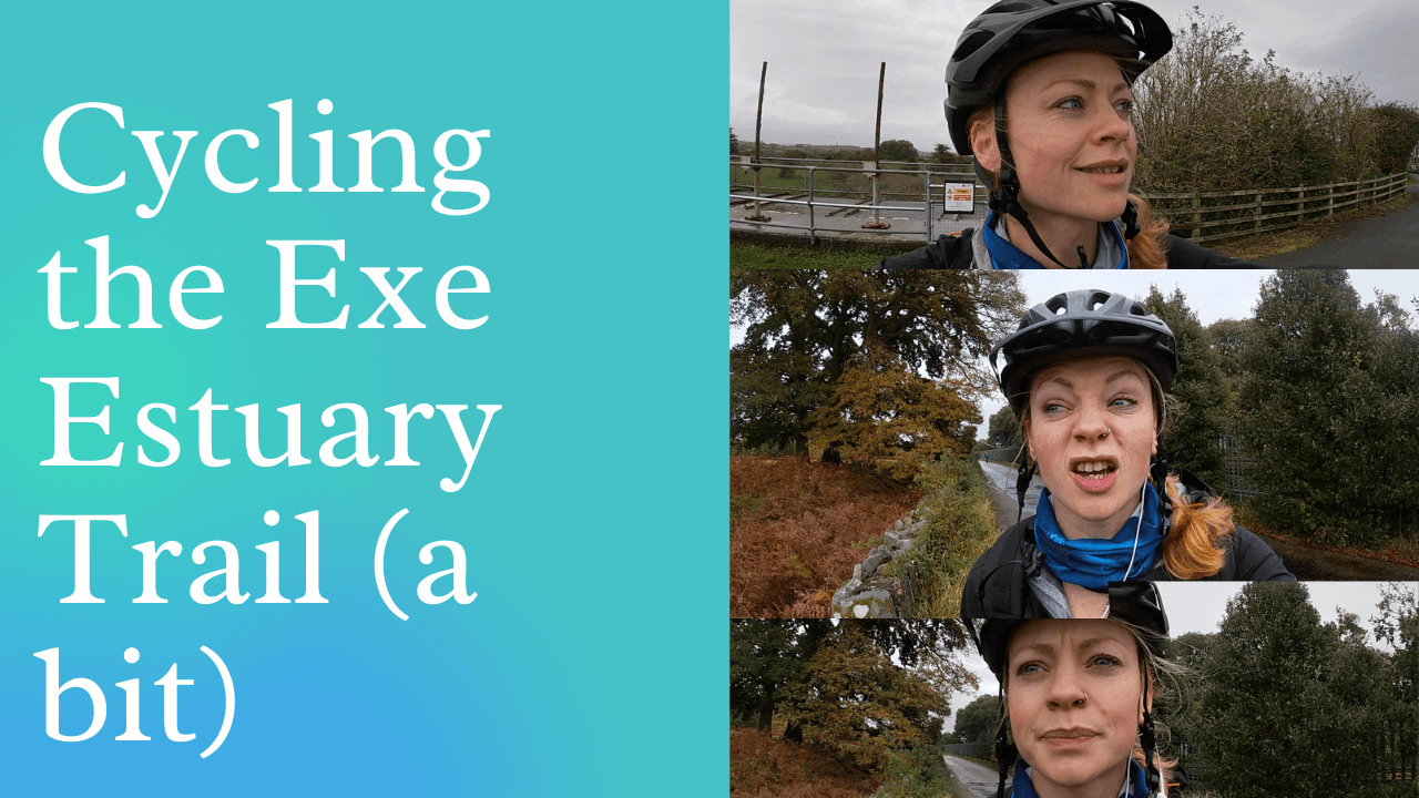 Video: Cycling the Exe Estuary Trail in the Drizzle