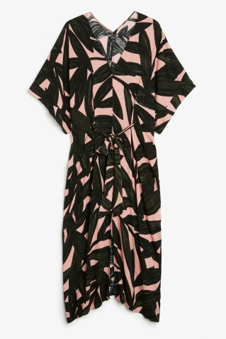Monki long kaftan dress