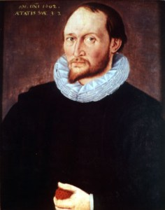 Portrait of possibly Thomas Harriot