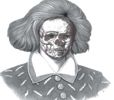 Spooky Skull Marlowe