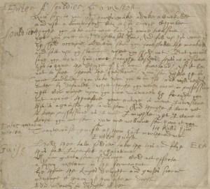 Marlowe Manuscript