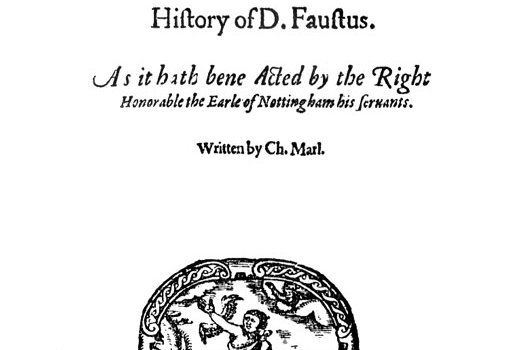 Faustus title screenshot