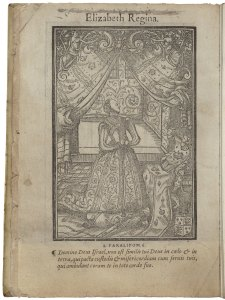 Elizabeth I prayer book image