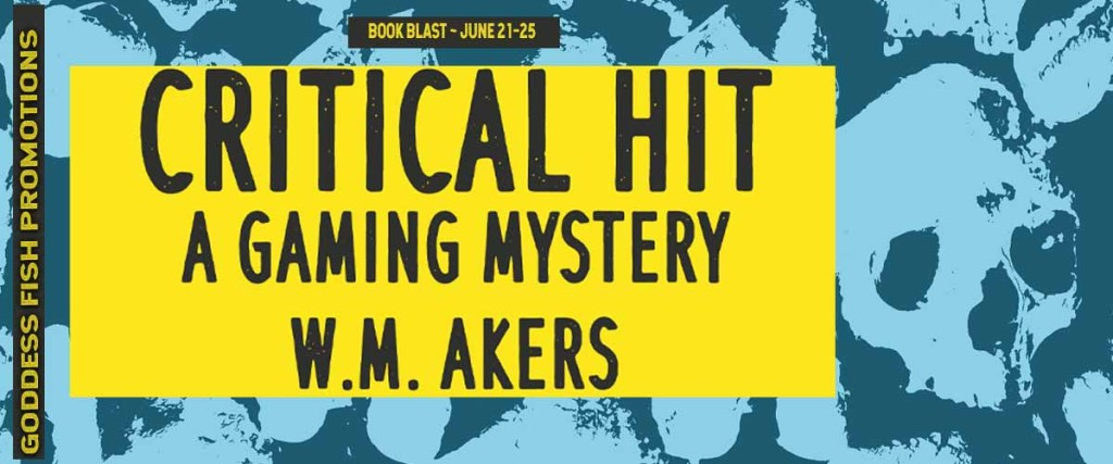 Goddess Fish tour banner for Critical Hit by W.M. Akers