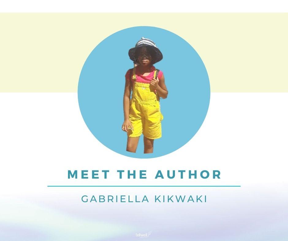 author Gabriella Kikwaki