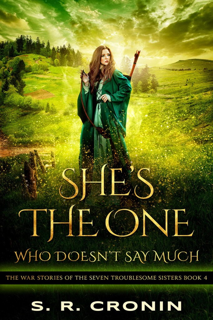 cover of She's the One Who Doesn't Say Much by S. R. Cronin