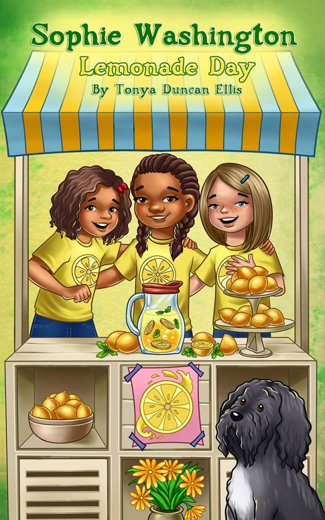 cover of Sophie Washington Lemonade Day by Tonya Duncan Ellis