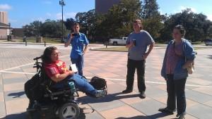Occupy Austin members