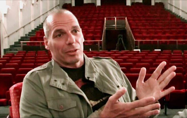 Greek economist Yanis Varoufakis, May 2013 at Subversive Festival, Zagreb. (Wikimedia / PanchoS)