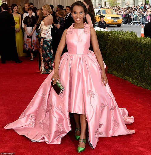 met gala Kerry Washignton
