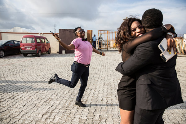 People gathered in October to celebrate the 10th anniversary of the Initiative for Equal Rights, a gay rights group in Lagos