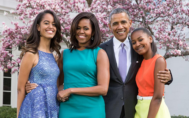 Look at the Obamas. Doesn't it feel like nothing seems to be wrong with this family?