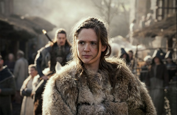 Women in the Dark Ages faced few choices, as depicted in the movie, 'The Last Kingdom'
