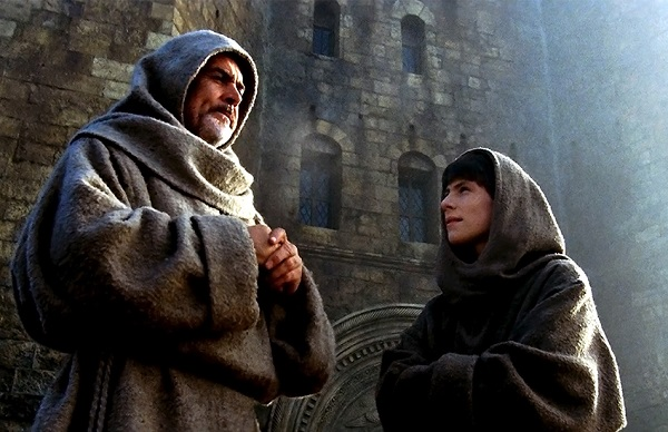 The movie, 'The Name of The Rose', depicted medieval monastic life