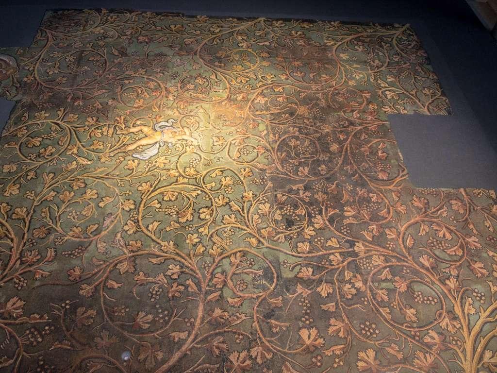 ガロ・ローマ博物館の巨大モザイク