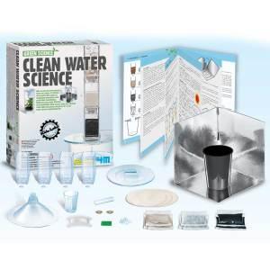 קיט מדע לטיהור והתפלת מים פרוייקט מדעי