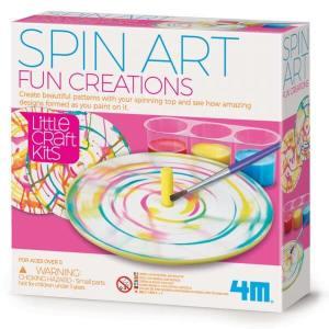 אמנות בסביבון-מיני ערכת מדע ויצירה לילדים   4M
