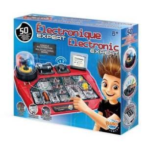 ערכת חשמל ואלקטרוניקה ענקית לילדים – 50 מעגלים – Buki