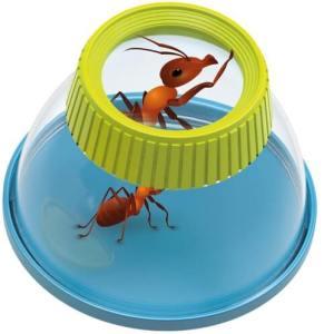 זכוכית מגדלת לחקר חרקים עם סוגר – ילדים גיל 3 BUKI