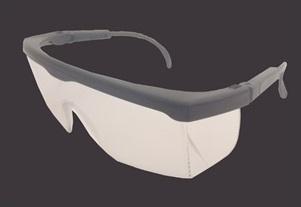 Óculos de segurança.