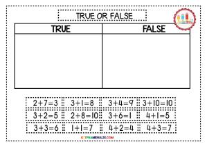 Mini-Worksheet-Kira-1-10-TRUE-OR-FALSE-03 Mini Worksheet Kira 1-10 TRUE OR FALSE-03
