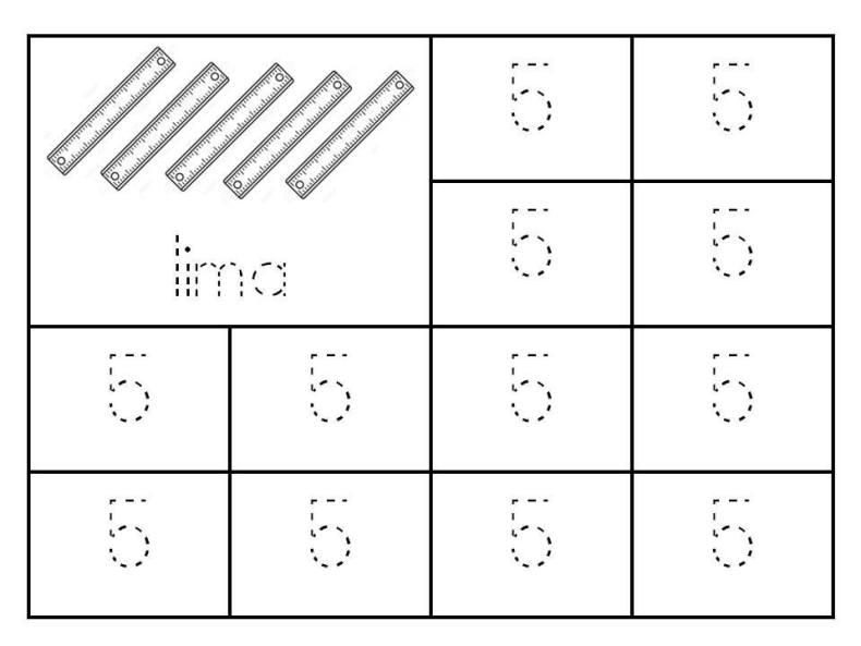 surih-nombor-1-hingga-9 Latihan Surih Nombor   Surih Nombor 1 Hingga 10 Pendidikan Khas