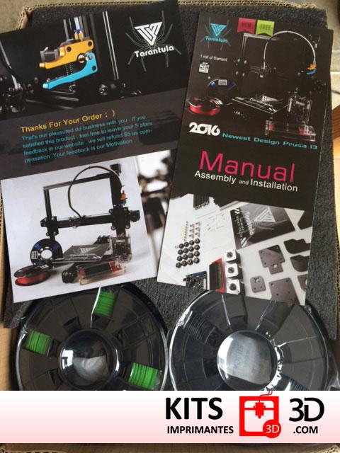 kit imprimante 3d tevo tarantula kits imprimantes 3d. Black Bedroom Furniture Sets. Home Design Ideas