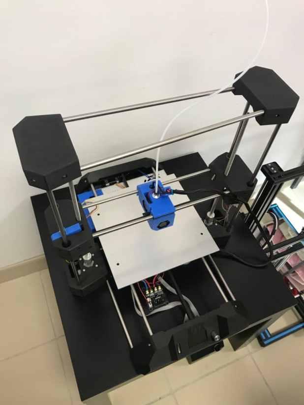 Test imprimante 3d TiZYX