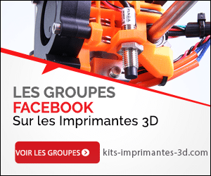 Groupe Facebook Imprimantes 3D